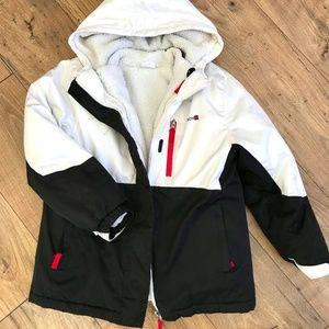 SWISS TECH Girls Double Winter Coat 7-8 Medium